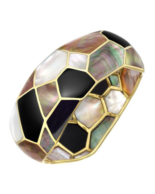 Ippolita - Multicolor Mother-of-pearl & Onyx Mosaic Bangle - Lyst