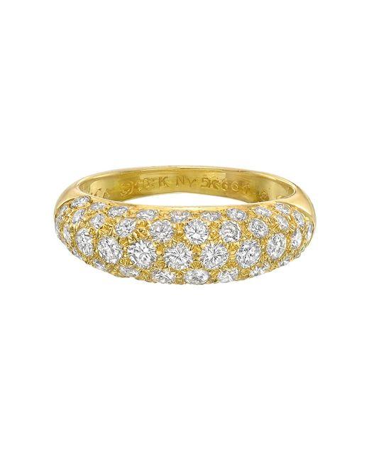 Van Cleef & Arpels - Metallic 5-row Diamond Domed Band Ring - Lyst