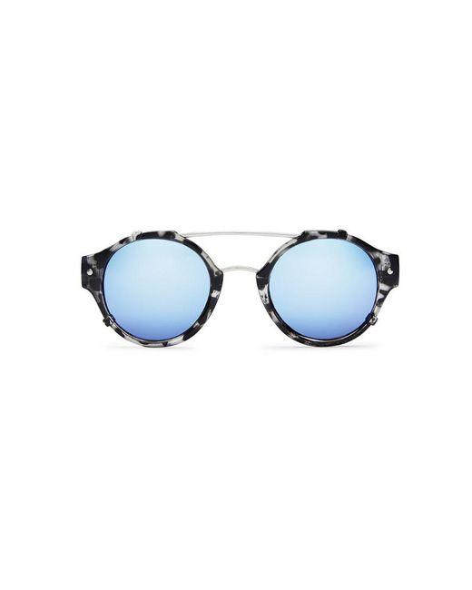 Quay - Blue It's A Sin Sunglasses - Lyst