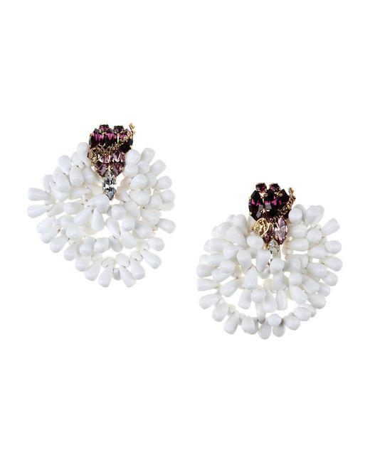 DSquared² | White Earrings | Lyst