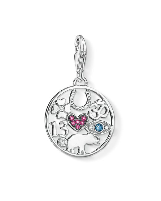Thomas Sabo | Multicolor Charm Club Luck Pendant | Lyst