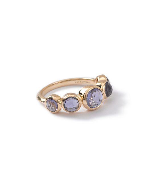 Ippolita | Metallic 18k Lollipop 5-stone Bezel Ring | Lyst