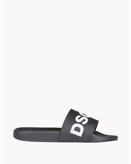 DSquared²   Black Dune Flip Flop for Men   Lyst