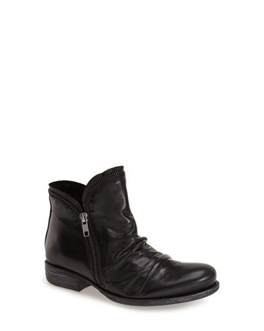 Miz Mooz | Black 'luna' Ankle Boot | Lyst