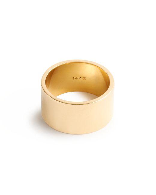 J.Crew   Metallic Brvtvs Thick 14k Gold Ring   Lyst