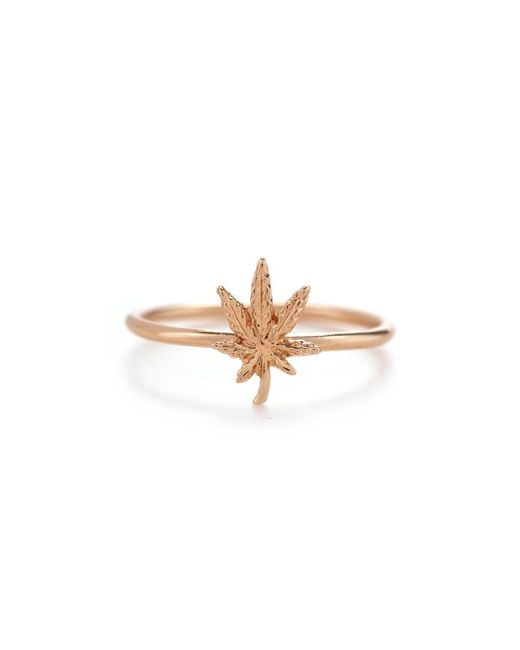 Bing Bang | Pink Mary Jane Ring | Lyst