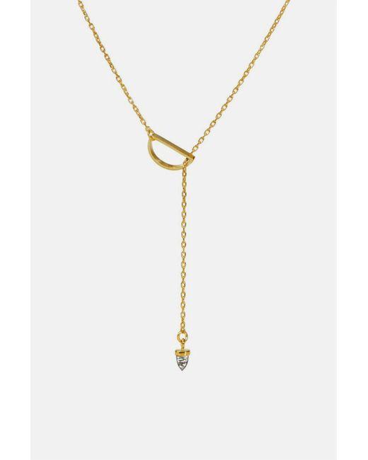 Bing Bang - Metallic Zenith Lariat Necklace - Lyst