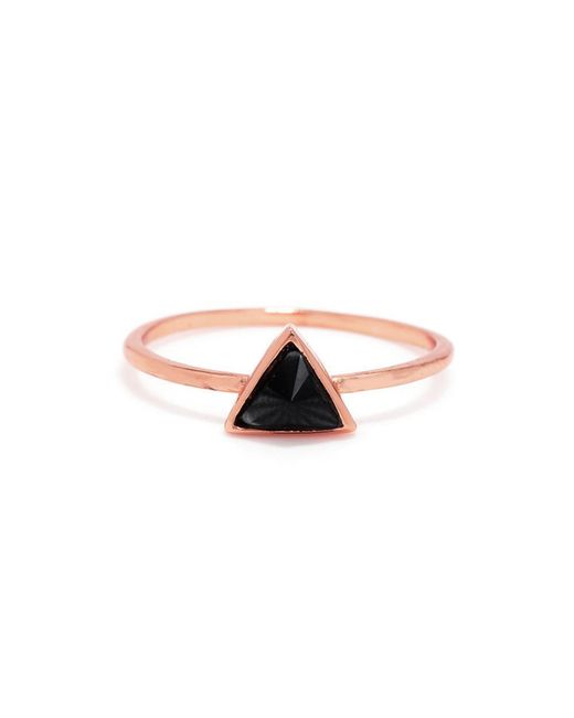 Bing Bang - Pink Delta Bezel Ring - Lyst