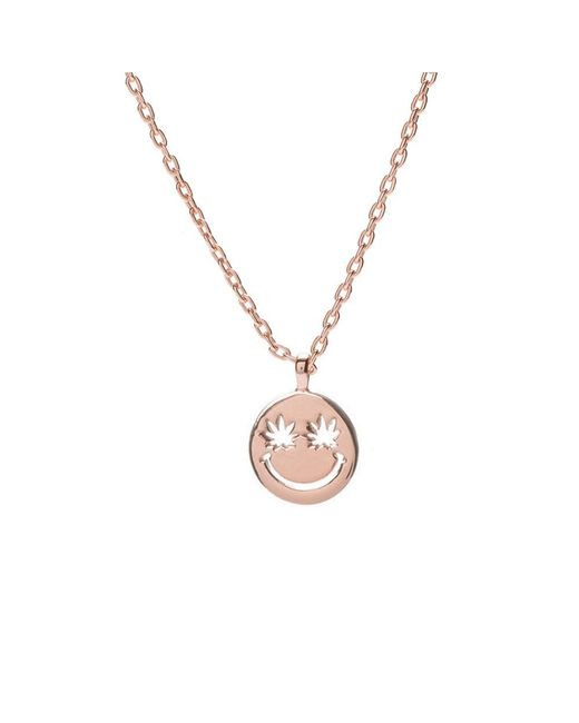 Bing Bang | Metallic Happy Eyes Necklace | Lyst