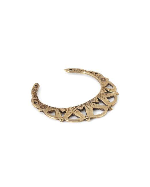 Bing Bang | Metallic Rising Moon Cuff Bracelet | Lyst