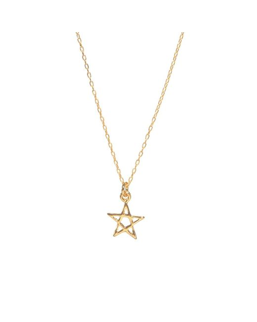 Bing Bang | Metallic Star Necklace | Lyst
