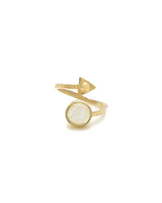 Bing Bang | Yellow Air Amulet Ring | Lyst