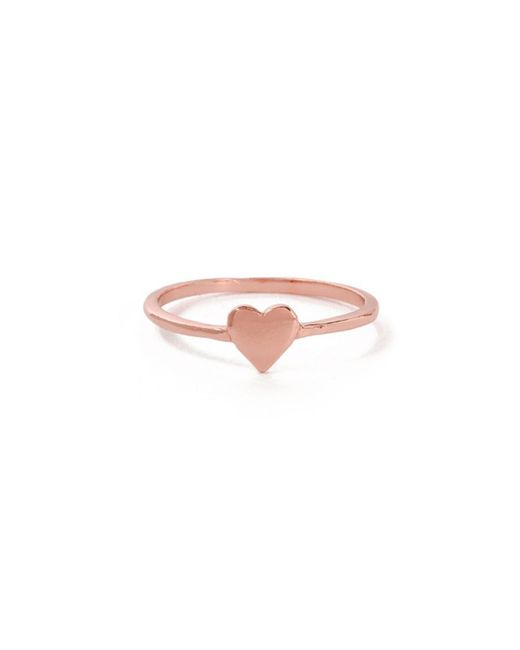 Bing Bang | Pink Heart Ring | Lyst
