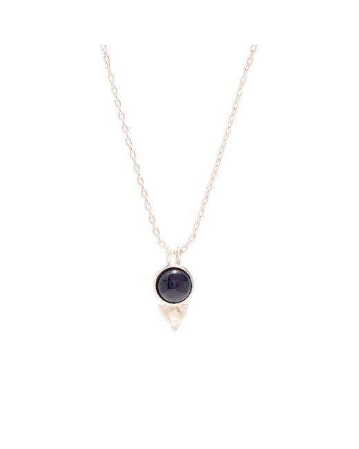Bing Bang | Metallic Earth Amulet Necklace | Lyst