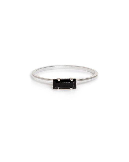 Bing Bang | Metallic Tiny Baguette Ring | Lyst