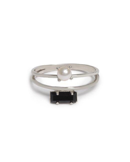 Bing Bang - Metallic Monroe Duet Ring - Lyst