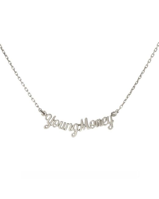 Bing Bang - Metallic Young Money Necklace - Lyst
