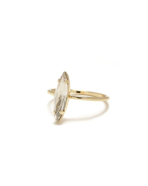 Bing Bang | Metallic Crystal Shard Ring | Lyst