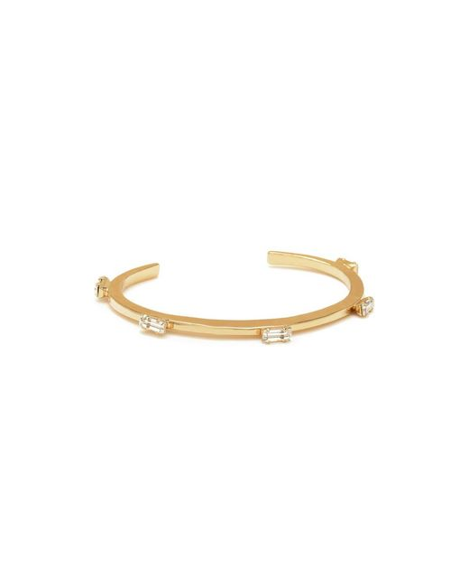 Bing Bang | Yellow Five Baguettes Cuff | Lyst