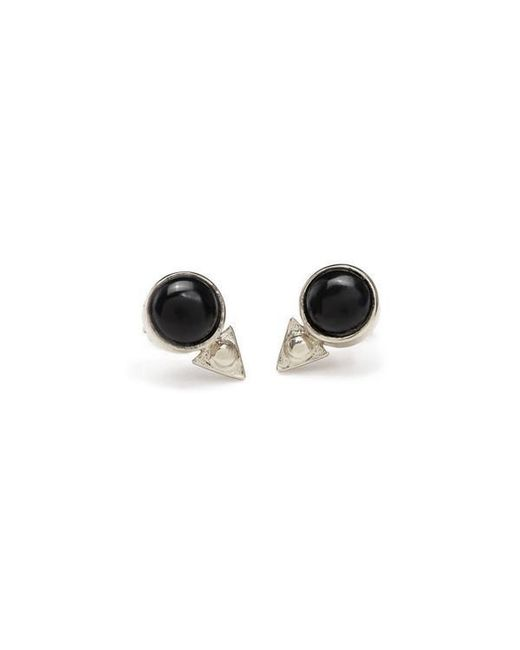 Bing Bang - Metallic Earth Amulet Studs - Lyst