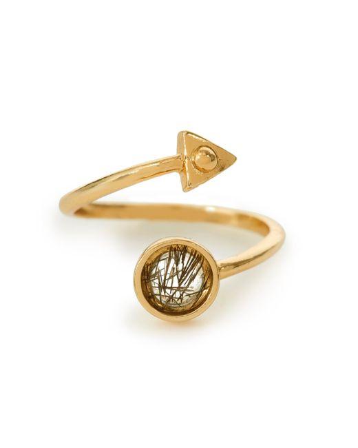 Bing Bang | Yellow Air Amulet Ring | Lyst