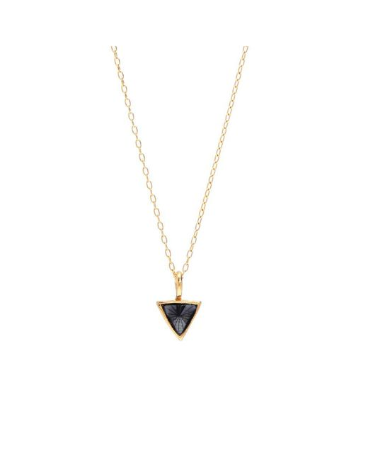 Bing Bang | Metallic Delta Bezel Necklace | Lyst
