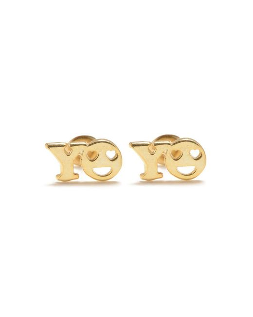 Bing Bang - Metallic Yo Studs - Lyst