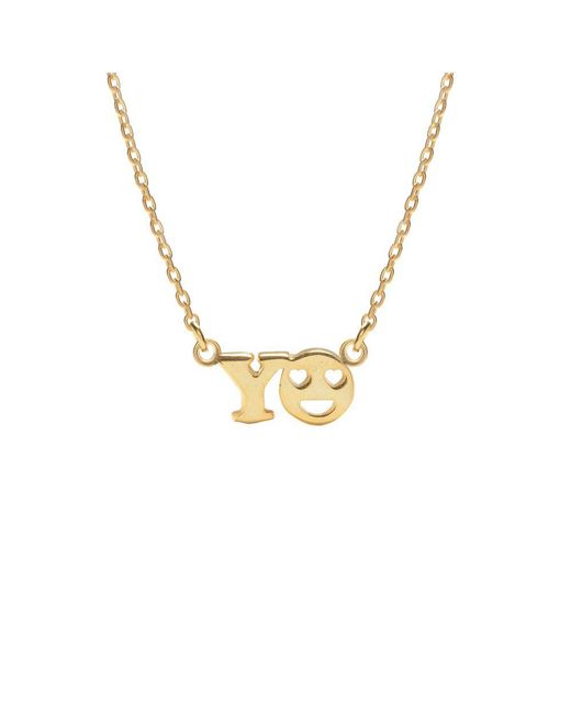 Bing Bang | Metallic Yo Necklace | Lyst