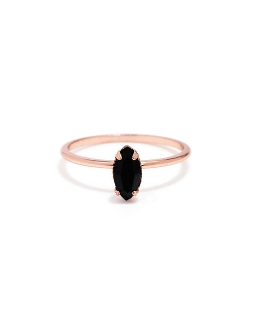 Bing Bang - Pink Tiny Marquis Ring - Lyst
