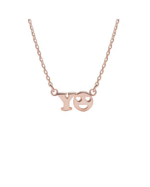 Bing Bang - Metallic Yo Necklace - Lyst