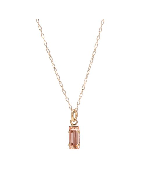 Bing Bang - Multicolor Tiny Baguette Necklace - Lyst