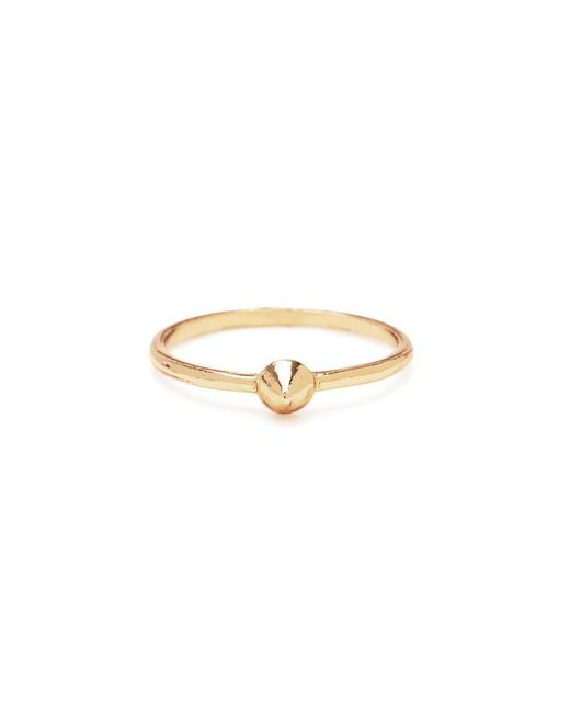 Bing Bang | Metallic Tiny Vivienne Ring | Lyst
