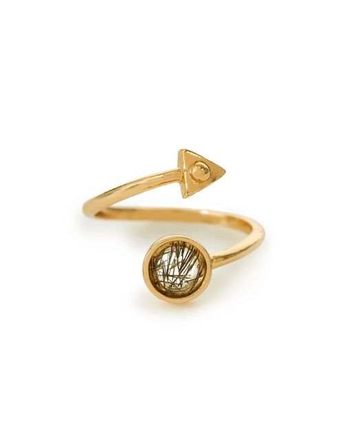 Bing Bang - Yellow Air Amulet Ring - Lyst