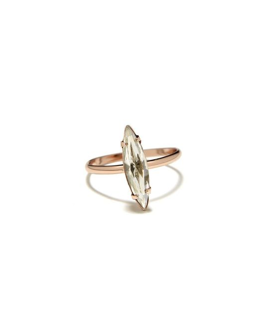 Bing Bang | Pink Crystal Shard Ring | Lyst