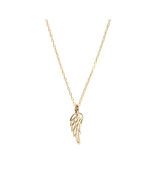 Bing Bang | Metallic Wing Necklace | Lyst