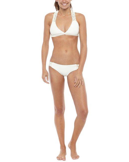 Mikoh Swimwear - Natural Tuamotu Top - Lyst