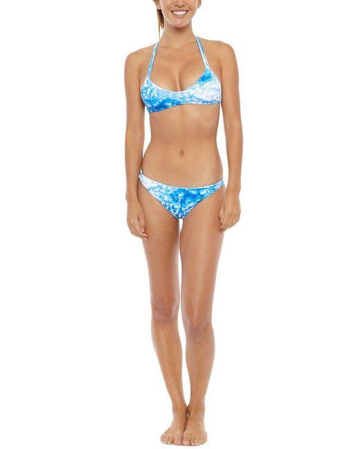 Mikoh Swimwear | Blue Uluwatu Top | Lyst
