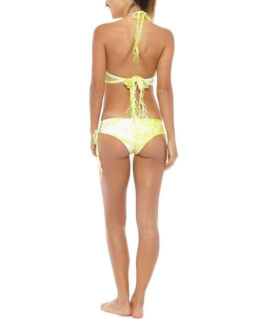 Mikoh Swimwear | Yellow Vanuatu Bottom | Lyst