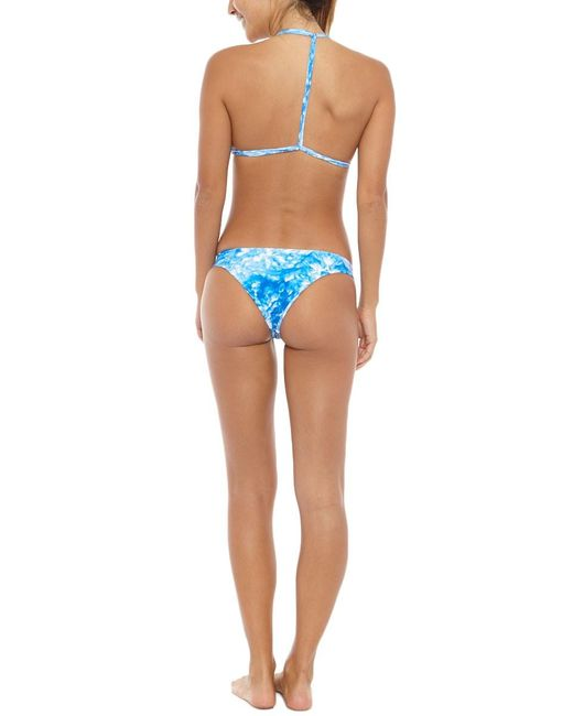 Mikoh Swimwear | Blue Miyako Printed Bottom | Lyst