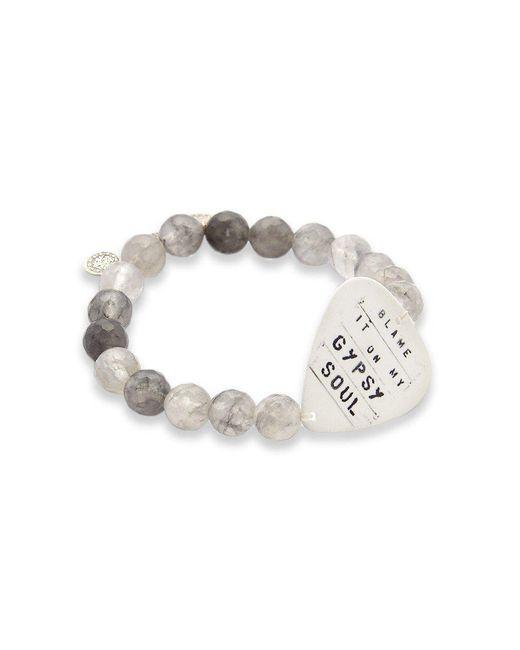 Electric Picks - Gray Gypsy Soul Bracelet - Lyst