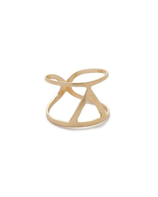 JEWEL CULT   Metallic Tristan Ring   Lyst