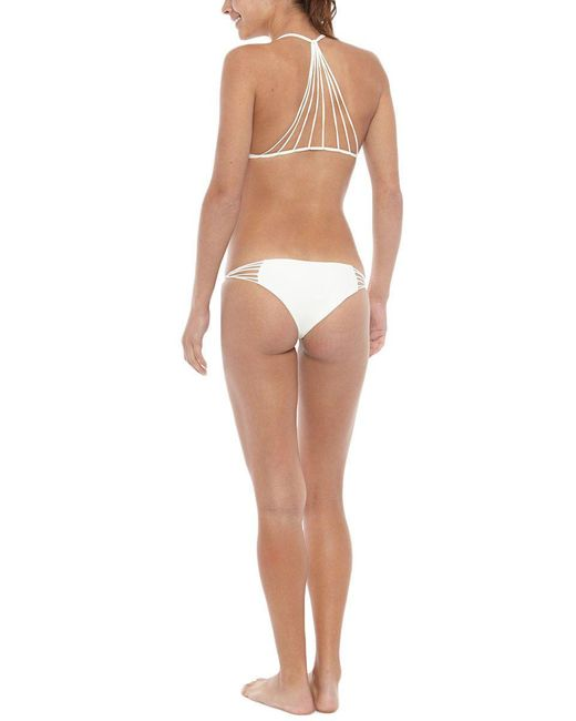 Mikoh Swimwear - Natural Lanai Bottom - Lyst