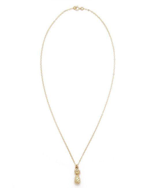 TATIANA KATZOFF | Metallic Pineapple Necklace | Lyst