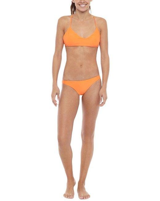 Mikoh Swimwear - Orange Xavier One Piece - Lyst