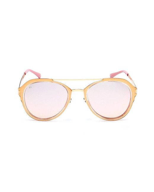 Privé Revaux - The Sweetheart Brow Bar Aviator Sunglasses - Pink - Lyst