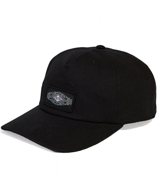 6a63e5d3ddc Lyst - Billabong Creed Snapback in Black for Men