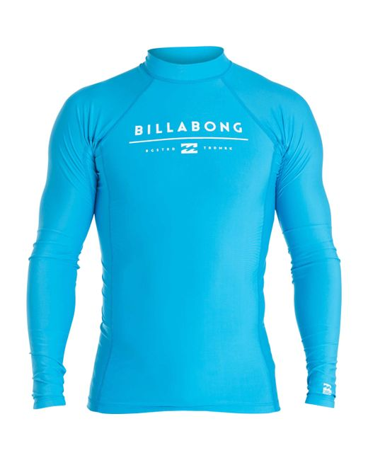Billabong   Blue All Day Unity Performance Long Sleeve Wetshirt for Men   Lyst