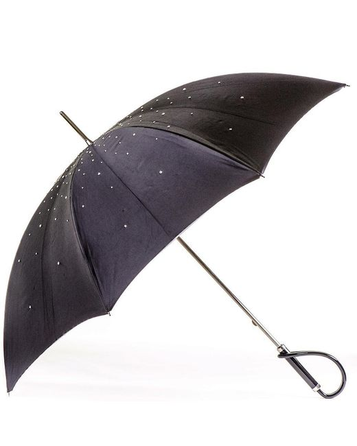 Black.co.uk - Multicolor Swarovski Crystal Luxury Double Canopy Italian Umbrella - Lyst
