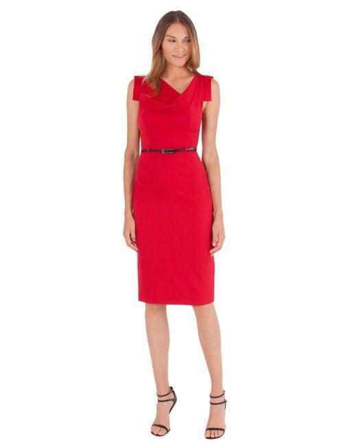 Black Halo - Red Classic Jackie O Dress - Lyst