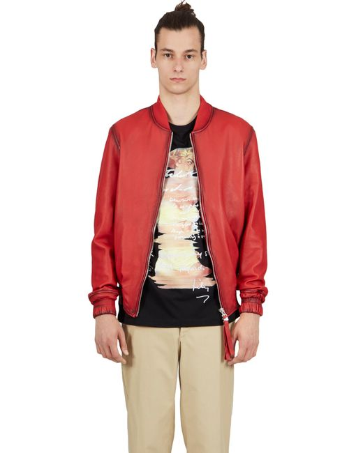 Blood Brother   Guard Bomber In Red for Men   Lyst